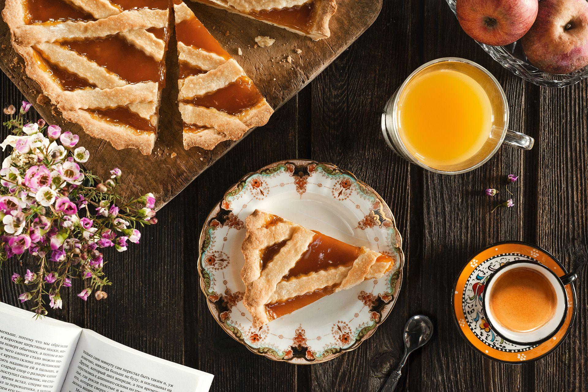 Fotografo cibo crostata