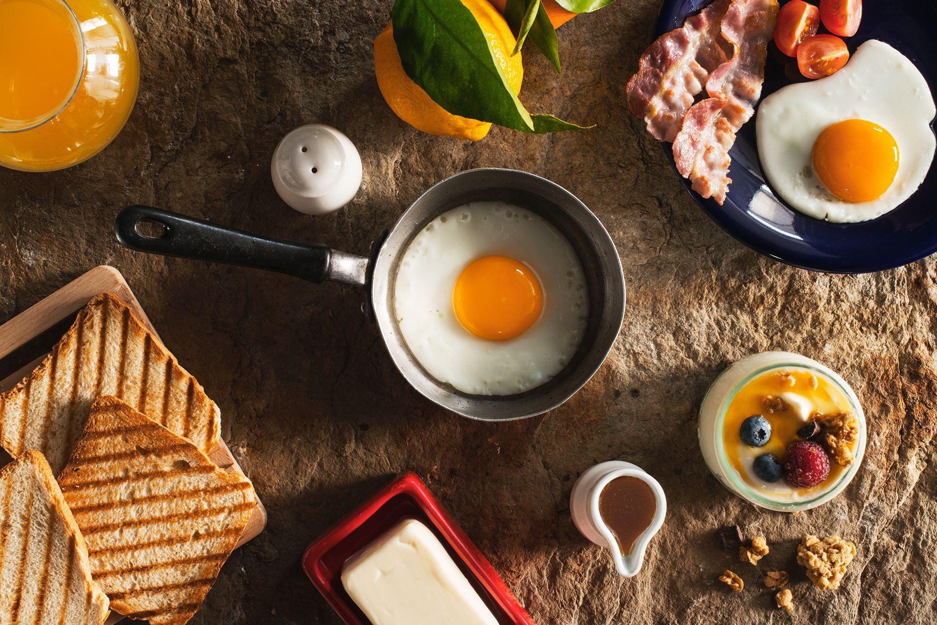 Fotografo cibo uova