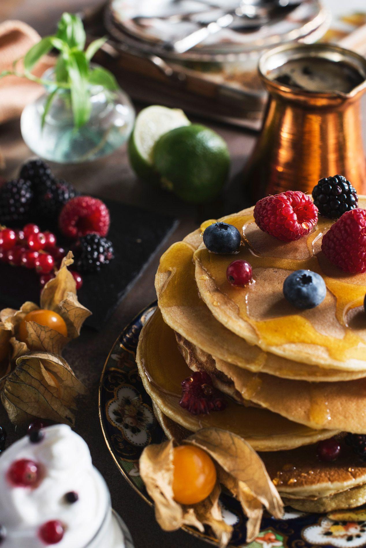 Fotografo food pancake