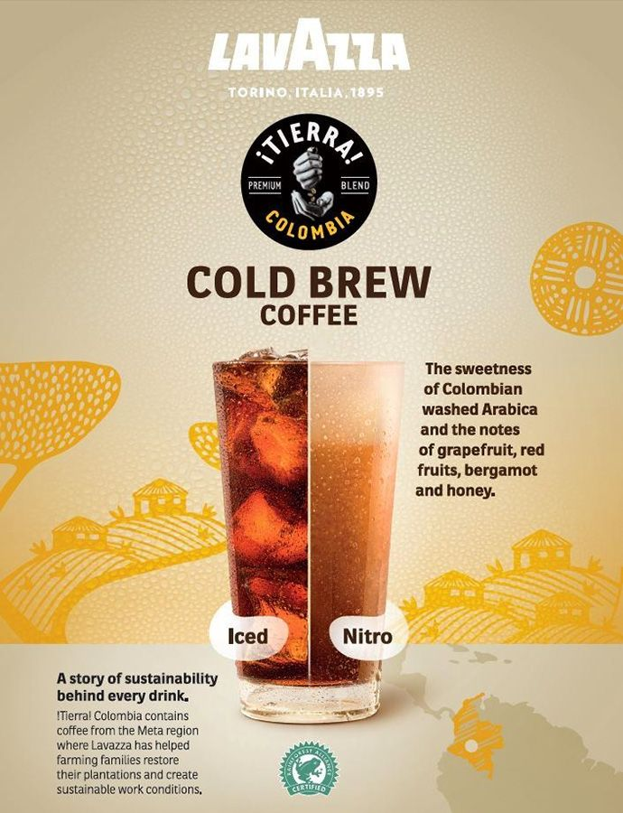 Lavazza Cold Brew Beverage