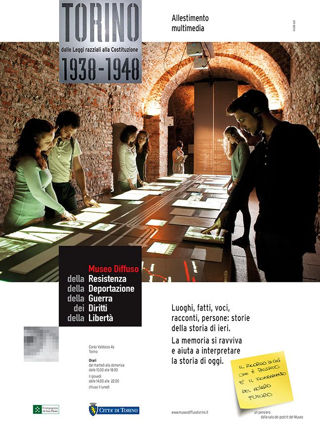 fotografo pubblicita affissioni torino museo
